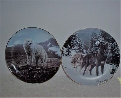 Bradford Exchange High Ridge and Tundra Song plates