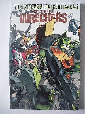 Idw Last Stand Of The Wreckers Transformers