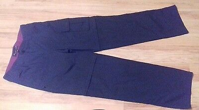 Ladies Mountain Life zip off trousers - size 10 - black - in vgc