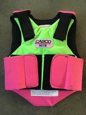 Casco MTR Cross Country Eventing Safety Vest size youth small S