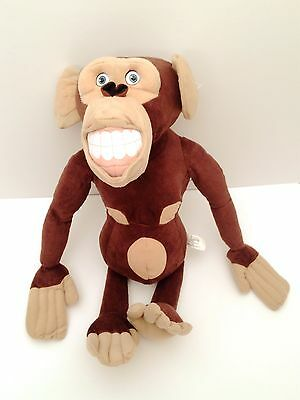 Nanco Dreamworks Big Madagascar Escape 2 Africa Chimpanzee Monkey Movie Plush