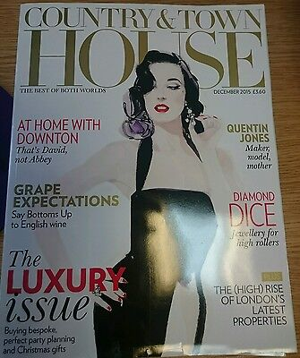 Country & Town House magazine, Dec 2015: Luxury issue, Downton Abbey