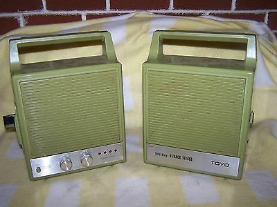 Vintage Toyo Solid State 8 Track Stereo Model CH 314