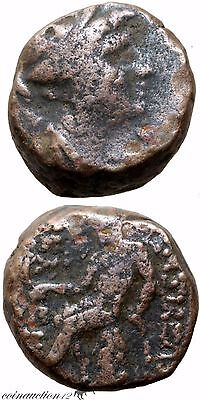 Ancient Greek Coin Ae Antiochos Iii The Great 223-181 Bc