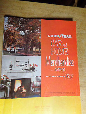Vintage Goodyear Car And Home Catalog Fall And Winter 1957 Vg