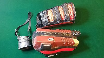 Deadshot Gauntlets & Eye Scope Patch Piece Suicide Squad for Halloween Cosplay