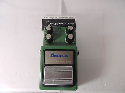 Ibanez Ts-9Dx Turbo Deluxe Tube Screamer Vintage Overdrive  Effects Pedal Ts9Dx