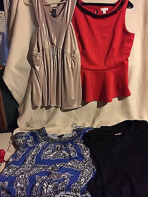Lot of 4 Womans tops size xl