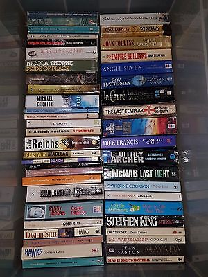 Selection Of Over 100 Paperback Books Various Artists Etc (1)