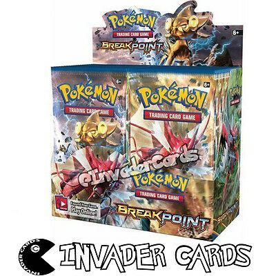 Pokemon XY9 Breakpoint Base Set Collection Booster Box 10 Card Pack New Sealed