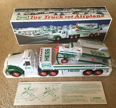 2002 Hess Toy Truck and Airplane Brand New In Box