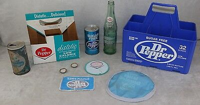 Dr. Dr Pepper Diet Dietetic Sugar Free Collection 1960's 1970's