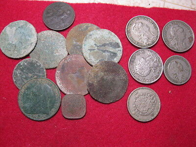 Detecting Finds  Assorted Lot British Pennies Half Pennies Others
