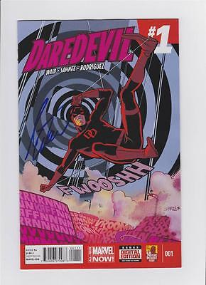 Daredevil 1 Mark Waid W/ Coa All New Marvel Now Chris Samnee Wondercon C2E2