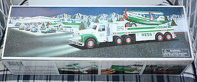 Hess 2002 Truck and Airplane - New in Box