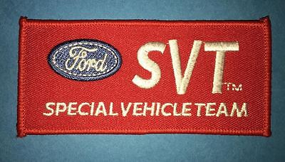 Rare Ford SVT Special Vehicle Team Car Club Jacket Coveralls Uniform Patch Crest