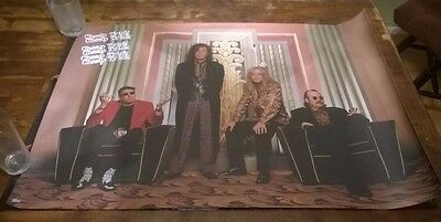 1990 Epic CBS Records Cheap Trick Poster 36 x 24