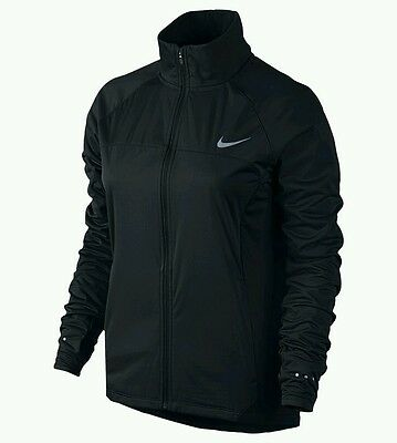 Nike Shield Womens Running Jacket - Black - Large - NWT - MSRP $110