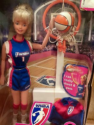 WNBA Blonde Barbie Doll #20205 New NRFB 1998 Mattel, Inc. 3+ - Collectable