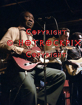 Archival Quality Photo Of Muddy Waters In Concert 1980