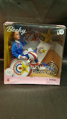 Becky Paralympic Champion 1999 Barbie Doll