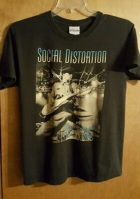 Social Distortion Sex Love And Rock N Roll T Shirt Adult Medium