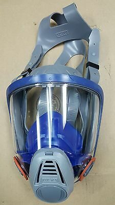 MSA 3200 3000 Series Full Facepiece Respirator Mask MEDIUM