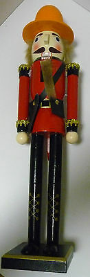 RCMP MOUNTIE Royal Canadian Mounted Police IN Red Serge Christmas Nutcracker