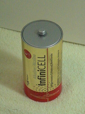 Rare InfiniCELL Advertising Working Transistor Radio with Extendable Antenna