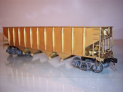 Precision Brass Item ... Pennsy 70 Ton Quad Hopper Type H25 Unpainted NIB