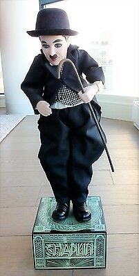 Charlie Chaplin Musical Automata Doll Enesco Numbered Limited Edition