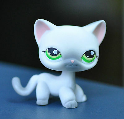 Pet Short Hair Cat Collection Child Girl Boy Figure Littlest Toy Loose LPS810
