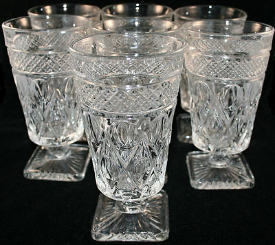 Imperial Cape Cod Footed Juice Tumblers