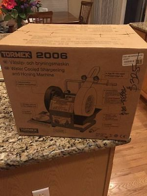 Tormek Brand New 2006 Water Cooled Sharpening System