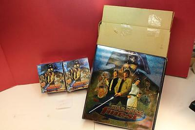 L22 TOPPS FINEST 1996 STAR WARS (2) MOVIE BOXES FACTORY SEALED w/ 3 Ring Binder