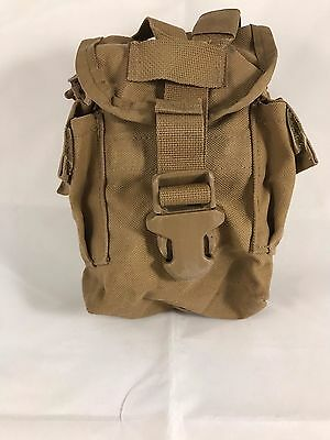 Used Canteen Pouch Coyote Tan Usmc Issue Or General Purpose Pouch Molle