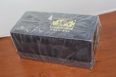 One Factory Sealed Box 1995 Star Wars Decipher Customizable Card Game Sets