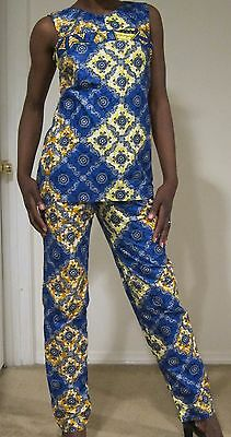African print  tunic top African Clothing, African fashion print