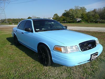 2004 Ford Crown Victoria Two Tone Ford Crown Vic P71 - fully restored - as seen on TV - link attached