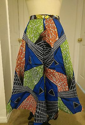 African print skirt circle skirt African fashion