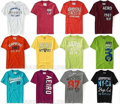 Aeropostale Mens T-Shirt Lot Of 15 You Choose Sizes Nwt Wholesale Resale Shirts