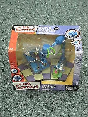 The Simpsons - Itchy & Scratchy Mcfarlane Box Set