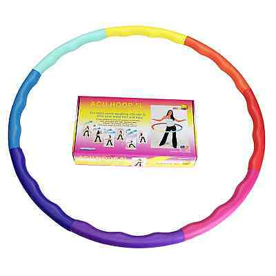 Weighted Sports Hula Hoop for Weight Loss - Acu Hoop 5L - 5 lb. large, workout