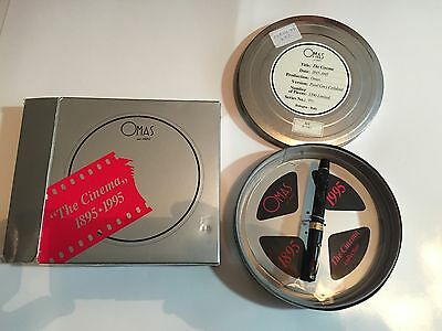 Omas The Cinema 1895-1995 Roler Pen Limited Edition 351/3890 In Box