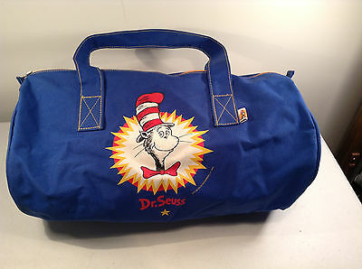 Dr Suess' The CAT IN THE HAT Polyester Gym bag- Book Bag-Christmas-Xmas