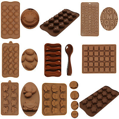 3D Silicone Chocolate Mould Cake Decorating Jelly Baking Cookie Sugarcraft Mold