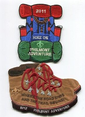 Philmont Scout Ranch-Adventure Patches-Lot Of 2