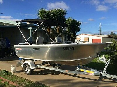 2016 stacer 429 outlaw 30Hp mercury engine