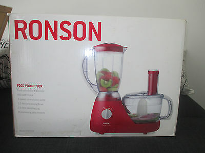 Brand new Red Ronson Food Processor