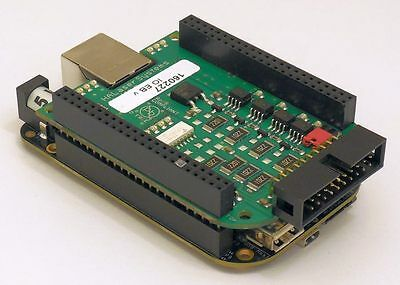 4-Axis Motorcontroller (Step/Direction 500 kHz) / 8x IO-Board USB Ethernet CNC